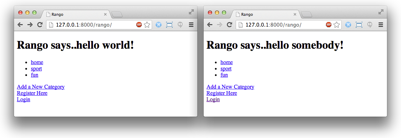 8  User Authentication — How to Tango with Django 1 5 4