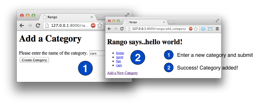 8  Fun with Forms — How to Tango with Django 1 7